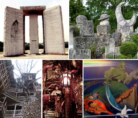 7 Mysterious & Monumental Man Made Wonders of America