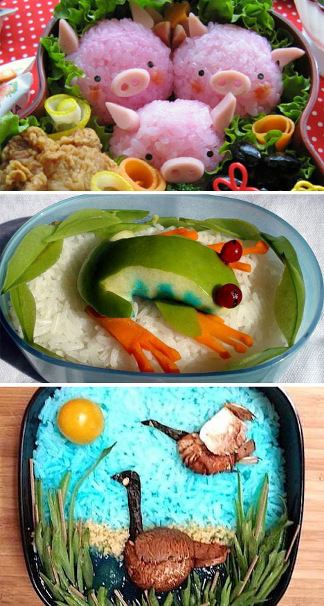 Bountiful Bento! 25 Not So Traditional  Lunches