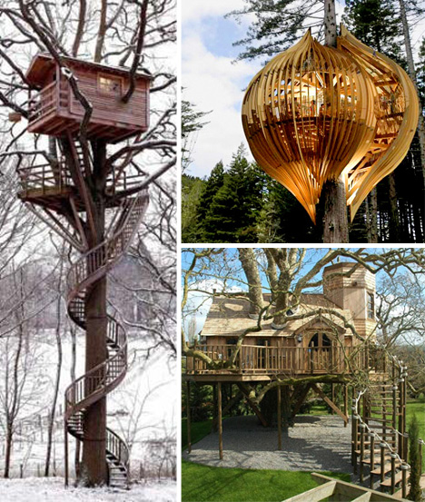 A Rickety Platform In The Backyard Can No Longer Be Called Tree House Not After Seeing These Real Is Either Built