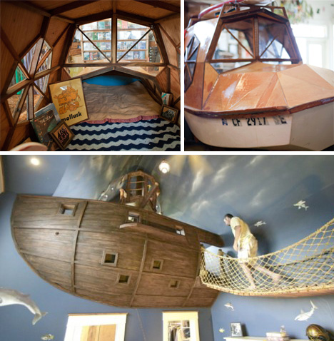 Dive Dive Dive 16 Incredible Submarine Themed Rooms