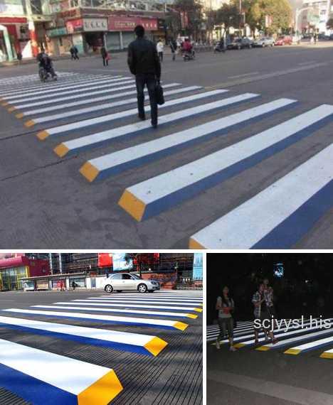 Ten More Creative Crosswalks Amp Zany Zebra Crossings Urbanist