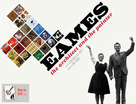 Team Eames: New Movie Shows Off Timeless Architect & Painter