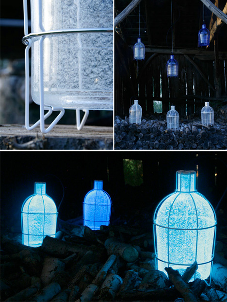 3 Eerie Eco Friendly Lamps Fueled by Algae, Breath & Blood
