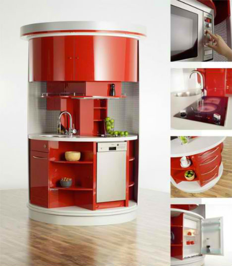 Cooking Lean 13 Mini Mobile Modular Motorized Kitchens Urbanist