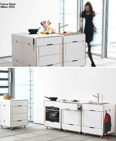 Cooking Lean: 13 Mini, Mobile, Modular & Motorized Kitchens ...