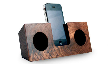 Sublime Sounds: 10 Uniquely Stylish iPhone + iPod Speakers