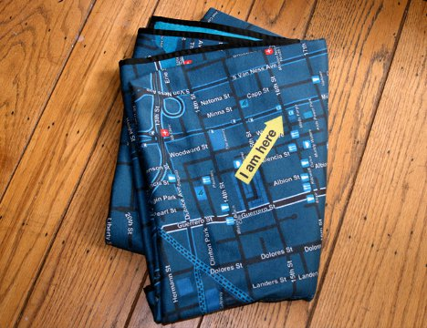 Custom Textiles Put the City You Love Right in Your Hands