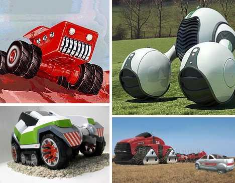 Crop Culture 10 Cool Amp Futuristic Concept Tractors Urbanist