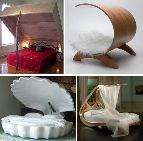 Weirdest Beds give it a rest! with these 18 weird beds & bedroom designs | urbanist