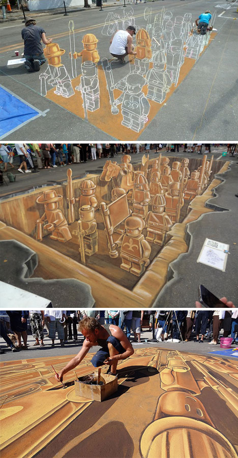 3D Sell Outs? 13 Street Ads You Can Step Into