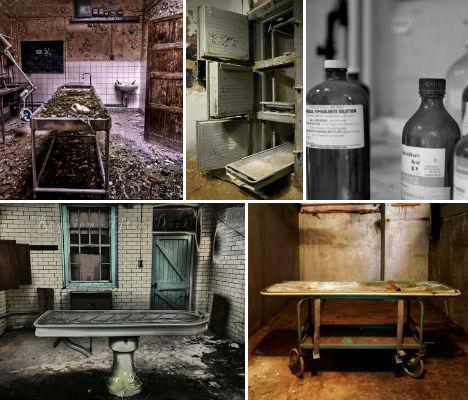 Morbid Abandonments 14 Deserted Morgues amp Mortuaries