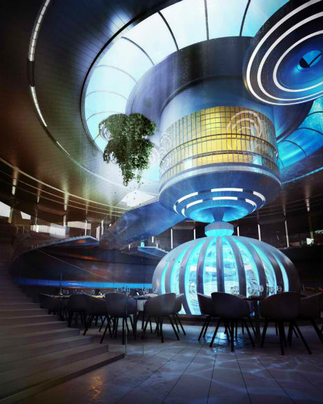 Incredible 10 new images of dubai underwater hotel design for Modern hotel dubai