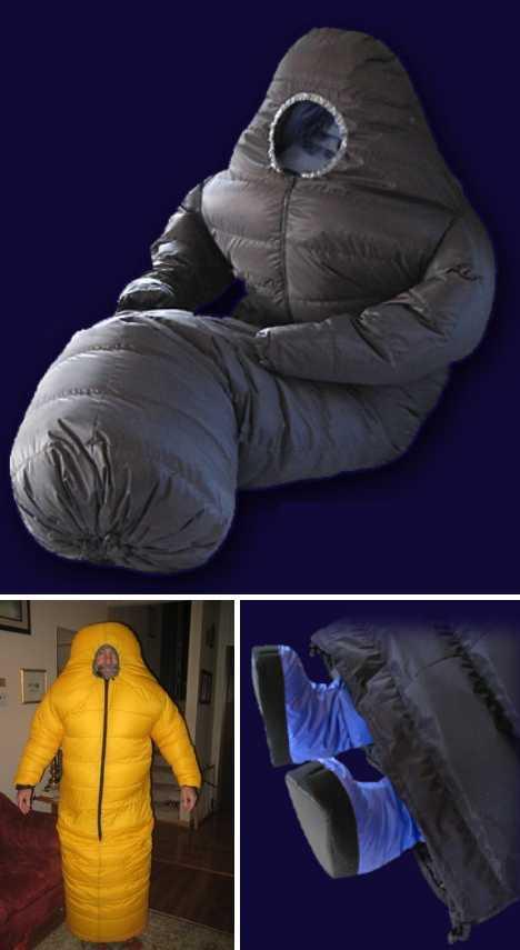 Padding Around: 12 Cozy Wearable Sleeping Bags