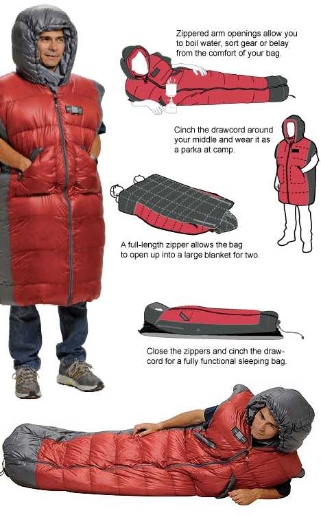 Padding Around 12 Cozy Wearable Sleeping Bags Urbanist