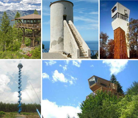 Fire-Inspired: 14 Converted & New Lookout Tower Homes | Urbanist on square stone homes, barn homes, alchemy homes, 2 story earthbag homes, ground homes, grain silos turned into homes, japanese city homes, cargo container homes, victorian style homes, neighbourhood homes, brooklyn park homes, tall homes, hurricane homes, complete precast concrete homes, horizontal homes, pylon homes, shakopee homes, americas best homes, 9 bedroom homes, classic revival homes,