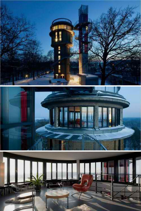 fire lookout tower house plans. Black Bedroom Furniture Sets. Home Design Ideas