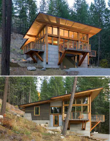 Fire inspired 14 converted new lookout tower homes for Tower home plans