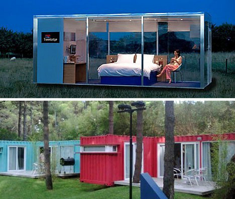 Almost Popup 15 Pre Fab And Shipping Container Hotels