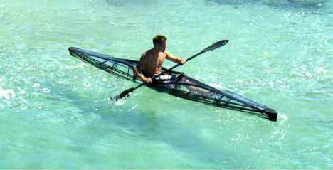 Clear Sailing Cleverly Transparent Canoes Amp Kayaks Urbanist