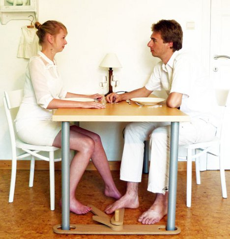 Footsie Under Table : Helping Hands: Useful Accessories for Your Home Furniture  Urbanist