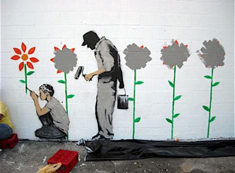 Guerilla Art Practices and Impact   graffiti vs. street art discourse ...  Streetart
