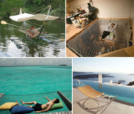 A ... - Luxury Lounging: 13 Tantalizingly Tranquil Hammocks Urbanist