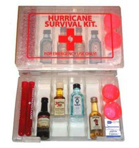 Hurricane survival kit funny, emergency supplies list for ...