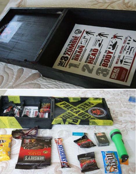 Zombie survival kit homemade