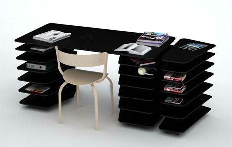 Double Duty Desks 14 Adaptable Office Furniture Designs