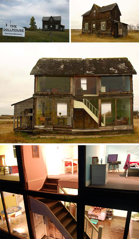 Life Sized Dollhouse Abandoned Home To Giant Playhouse