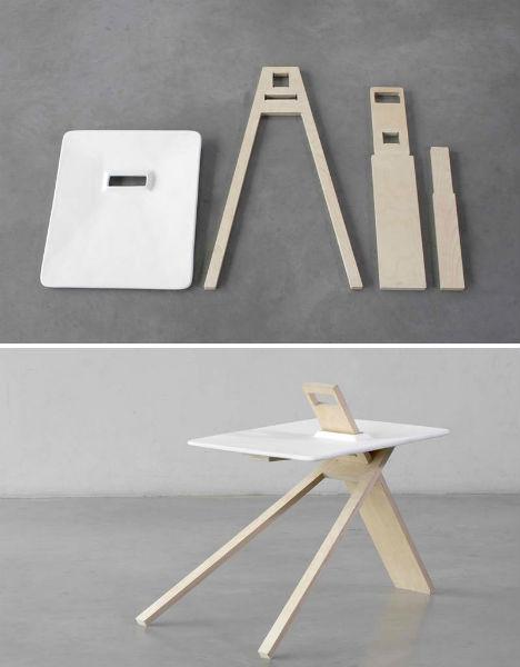 Flat Pack Furniture 3 Modern Designs From Noon Studio