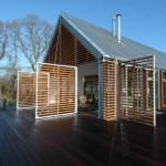 Dynamic shape shifting d haus rotates to follow the sun urbanist - Shape shifting house ...