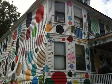 Home Painting tiger stripes to cow spots: 13 playful home paint jobs | urbanist