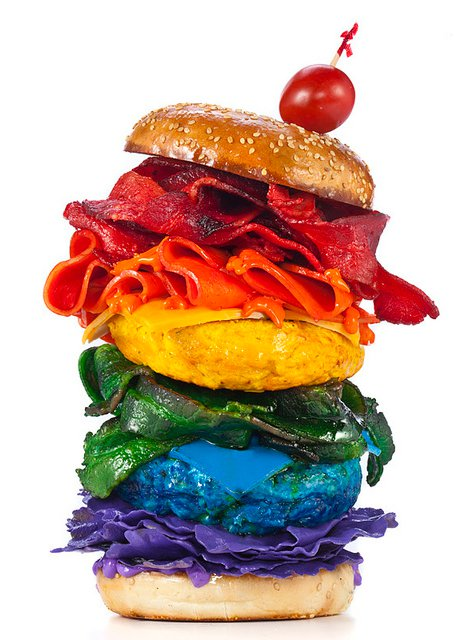 Rainbow Food Photography Is Not Entirely Appetizing Urbanist