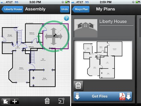 Magic plan app makes amazing automatic floor plans urbanist for Room design app using photos
