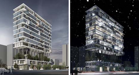 Shelf hotel revolutionary approach to modular for Hotel architecture