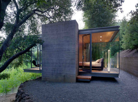 Shipping Container Homes also 22 Fachadas Rusticas Casas additionally Glass Getaway Tranquil Tea Houses In The Trees also 4 Adam Kalkin 12 Container House likewise 1313. on container home designs australia