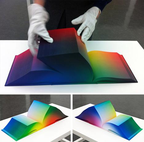 Colorspace Atlas: Rainbow Book Features Full RGB Range | Urbanist