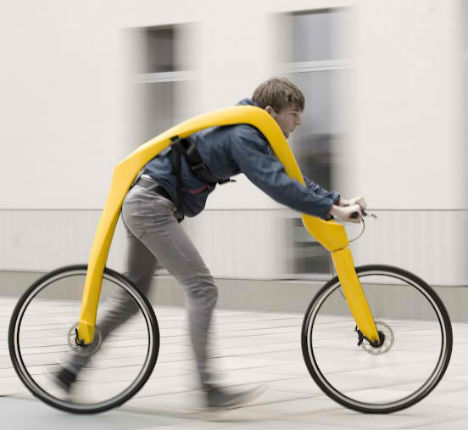 Bikes That You Sit In on this bicycle and you
