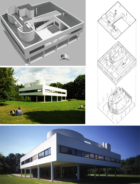 Autocad Drawings further Unite Dhabitation also File Villa La Roche 2013 as well Drawings Plans And Sections additionally Le Corbusier Villa Savoye Part 2 Architecture. on villa savoye floor plans
