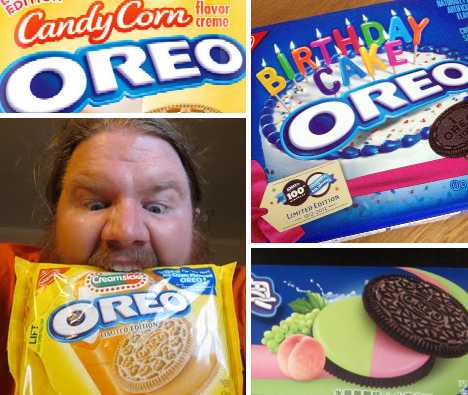 Blobfish Truffles besides Chocolate Dinosaur Teeth Are A Good Find moreover Futuristic Foods You Can Eat Right Now moreover Candy Buffet Kids Party Sweets Football Themed likewise Karaoke Superstars. on halloween oreos