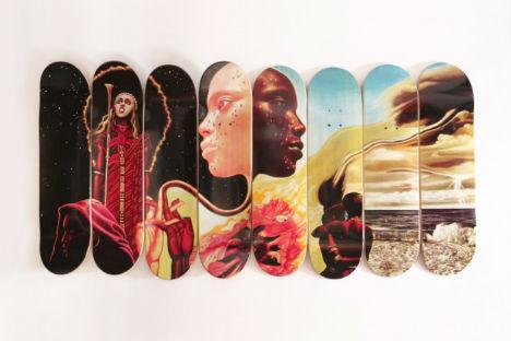 Western Edition u201cThe Bitches Brew Seriesu201d Skate Decks & Collector Decks: 15 Wall-Worthy Artistic Skateboards | Urbanist
