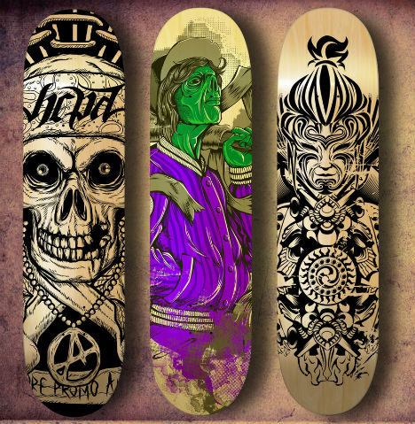 Collector Decks: 15 Wall-Worthy Artistic Skateboards | Urbanist