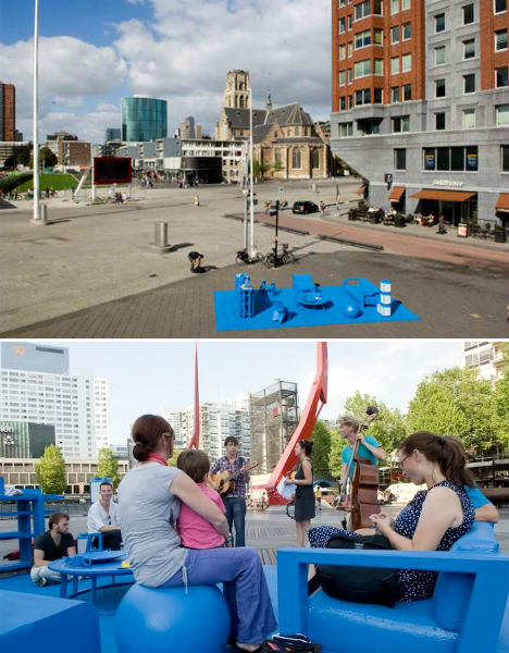 Kaiser previously collaborated  Urban Living Room Feel at Home in Public Places Urbanist
