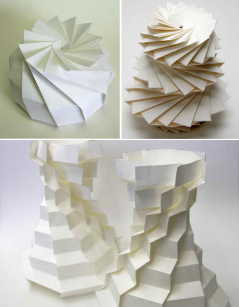 Math Paper Craft Computer Scientist Creates 3D Origami