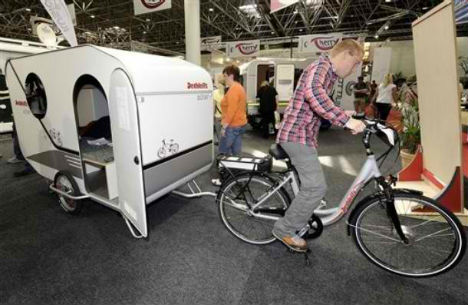 Bike Campers 12 Mini Mobile Homes For Nomadic Cyclists Urbanist