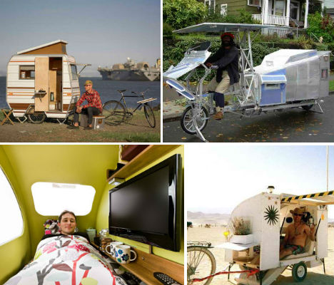Bike Campers  12 Mini Mobile Homes for Nomadic Cyclists   WebUrbanist