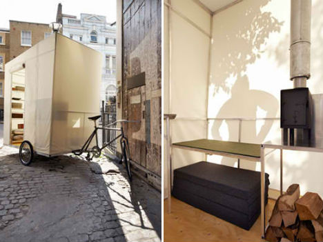 Bike Campers 12 Mini Mobile Homes For Nomadic Cyclists
