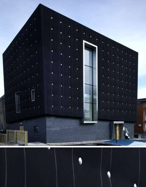 Black Buildings: 15 Examples of Monochromatic Architecture
