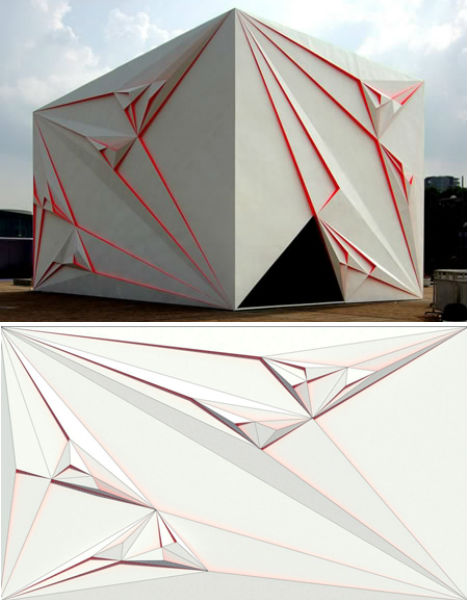 Home mathematics 12 fractal furniture architecture for Triangle concept architecture